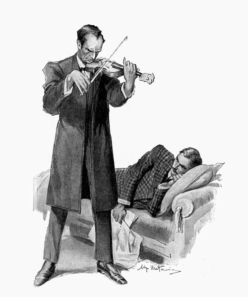 Holmes and the Violin